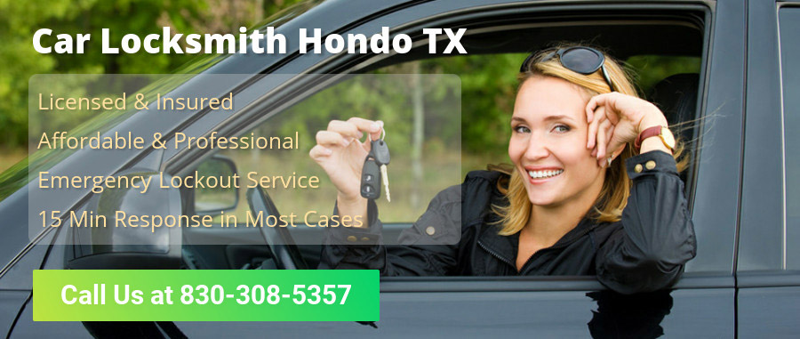 Car Locksmith Hondo TX banner